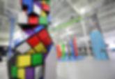 custom rubex cube climbing wall