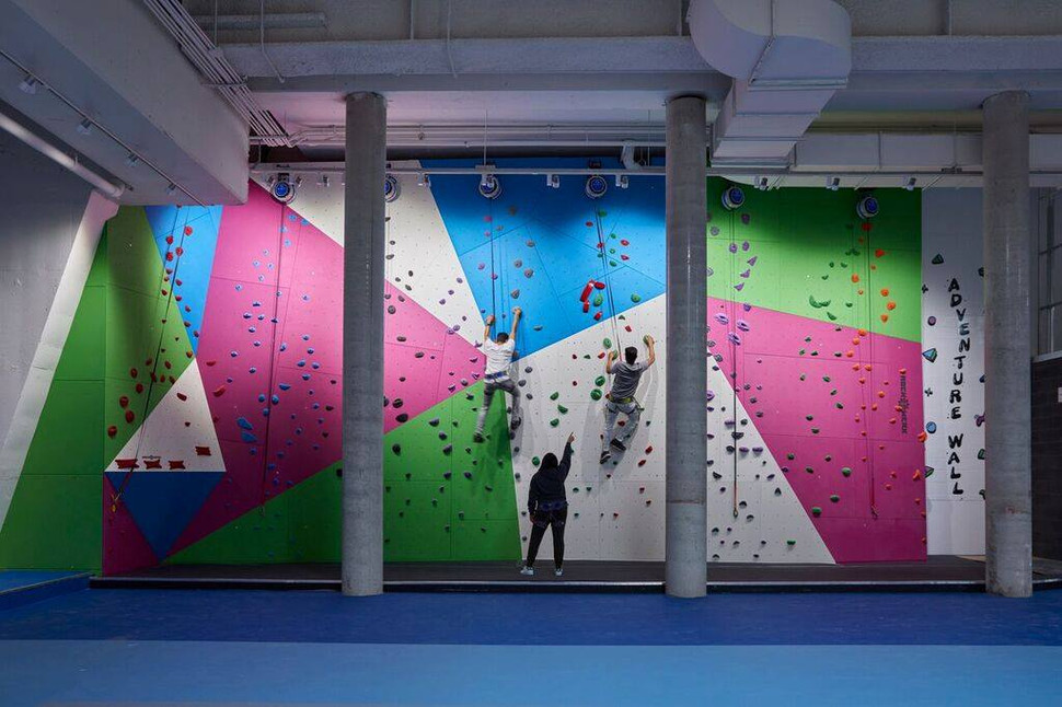 Rock Climbing Wall- Maple Leafs Launchpad