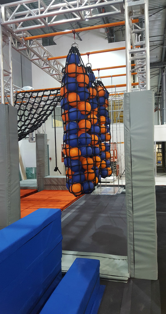Cargo Nets- Ninja Course