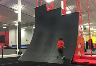 Ninja Course- Warped Wall