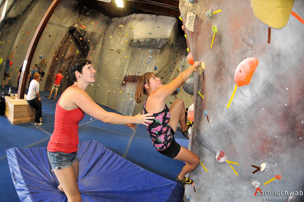 Top-Rope Rock Climbing Wall