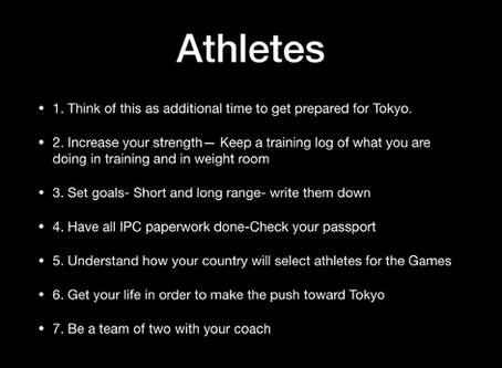 Americas Online Sessions for Para-athletics <Athletics-English Group>