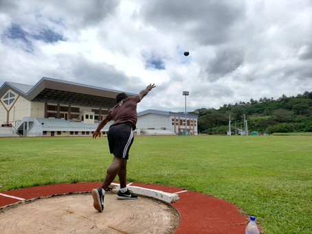 Throwing Training Camp in Vanuatu