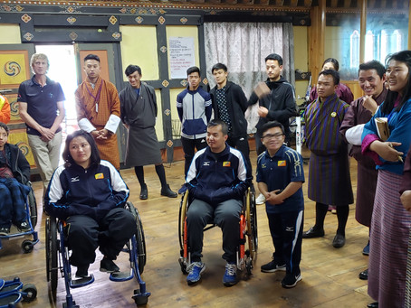 Para-coaching Workshop in Bhutan