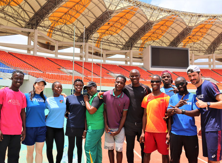 Para-Athletics Training Camp in Zambia