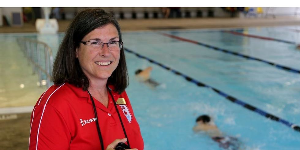 パラ水泳(英語圏)セッション with Vicki Keith