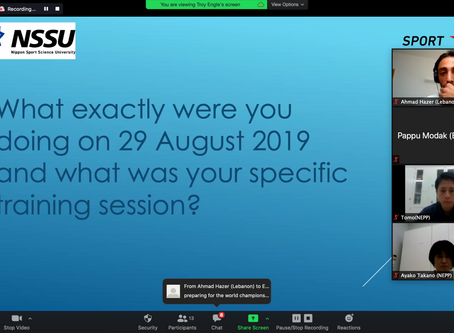 First Online Session for Asia Coaches