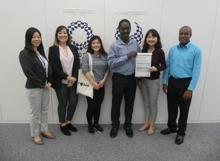 NPC Visit @ Tokyo 2020 Organizing Committee