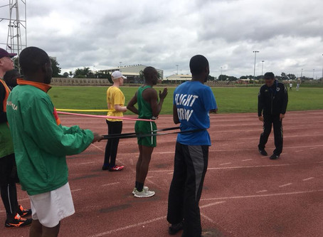 Para-Athletics Follow-up Training Camp in Zambia