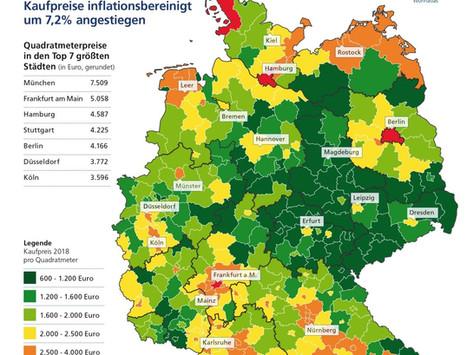 Wohnungsmarkt: Massiver Preisschub auch auf dem Land