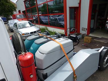 S.A.V de matériel de nettoyage industriel toutes marques.
