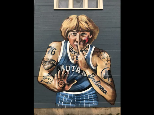 Guess what Larry Bird thinks of this mural