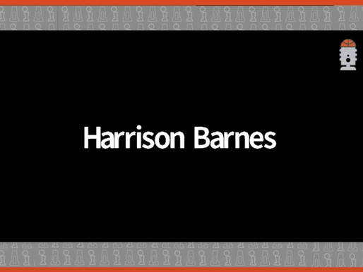 Last night's witching hour thought: has anyone seen Harrison Barnes?
