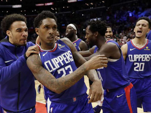 For once, it's good to be a Clipper