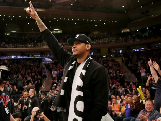 Of course Carmelo Anthony deserves this
