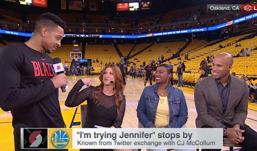 CJ's trying, Jennifer