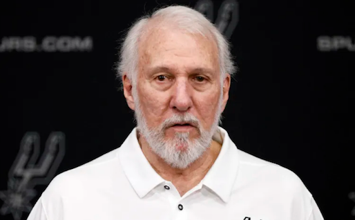 Popovich; sustained grumpiness and greatness