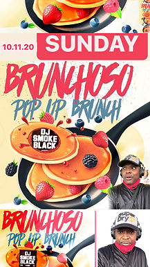 Brunchoso wit DJ SMOKE BLACK Pop Up