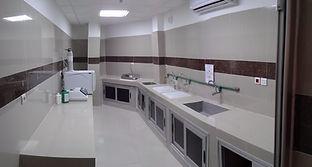 Installation of Sterilization chain in Togo