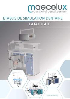 Meubles et équipements pour l'enseignement dentaire