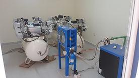 Installation of dental compressors in Sudan