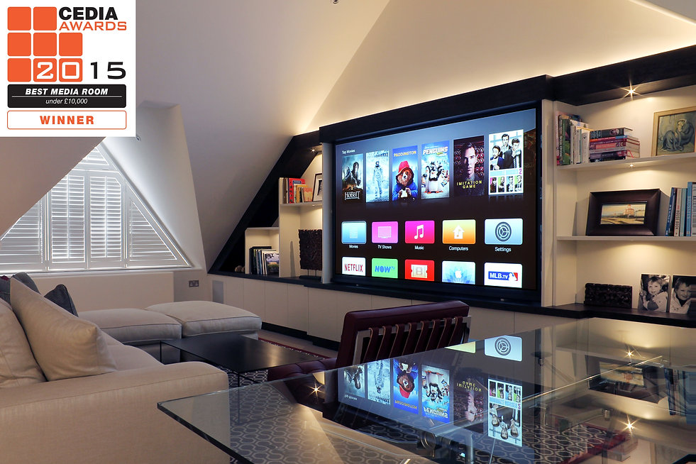 2015 award winning installation Heimkino