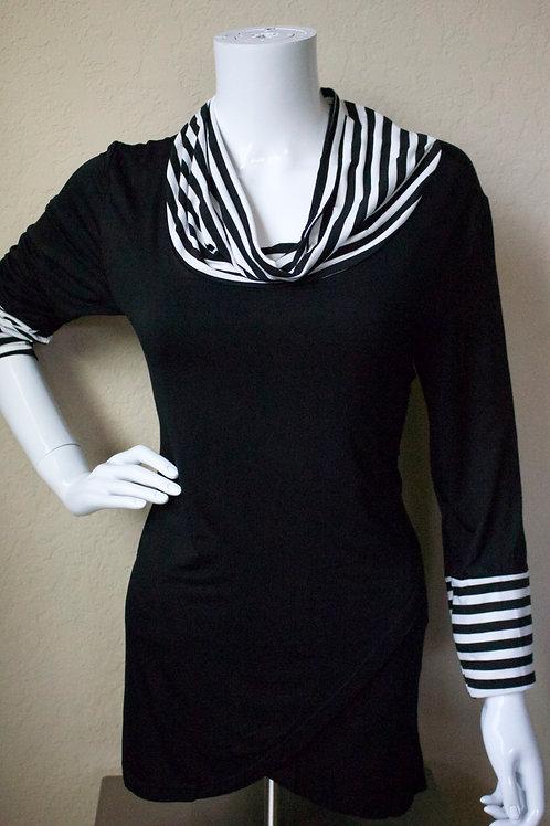 Black w/ Stripe Blouse
