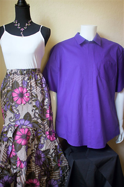 His & Hers Purple Set
