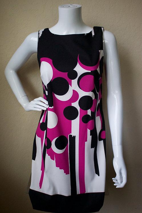 Pink & Black Dress