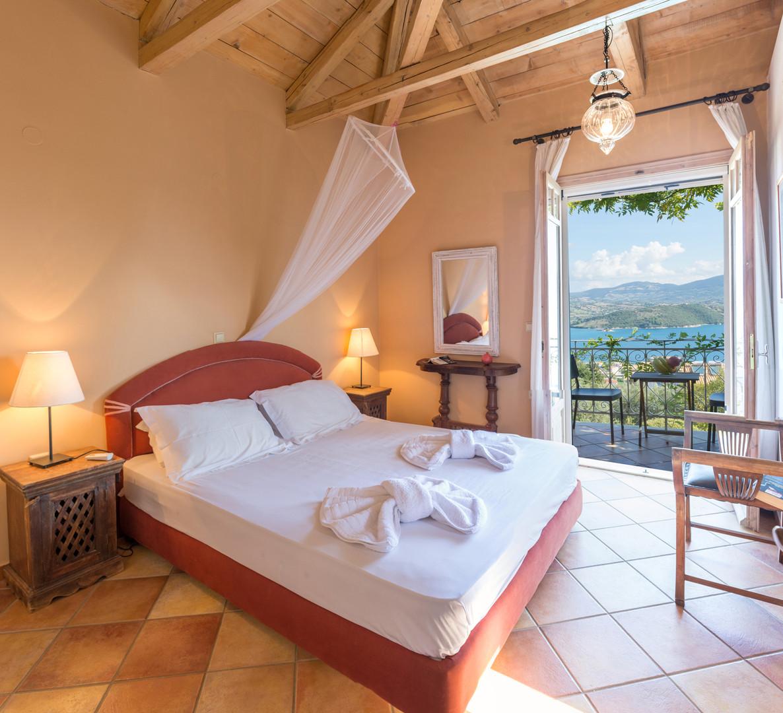 master bedroom - villa Pergola