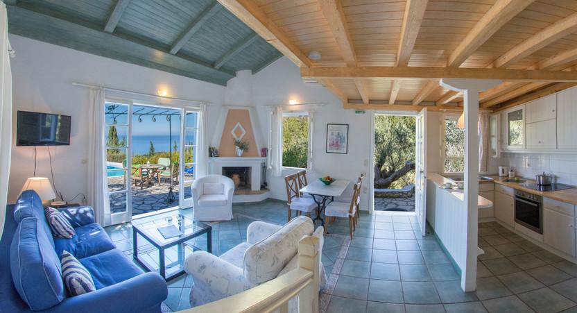 living area - villa Thalia