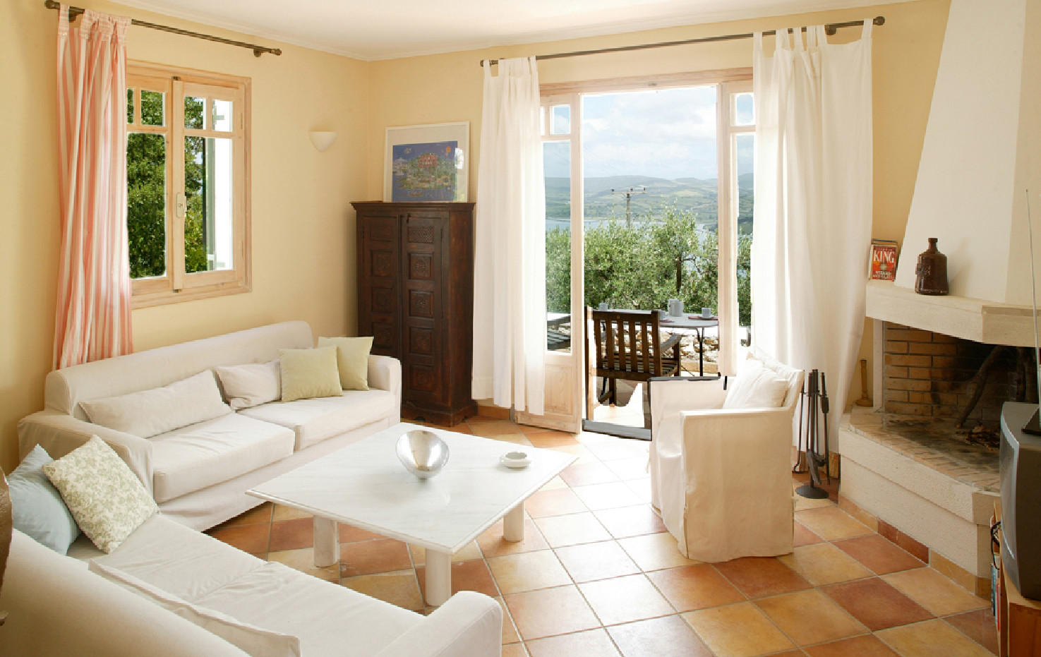living area - villa Pergola