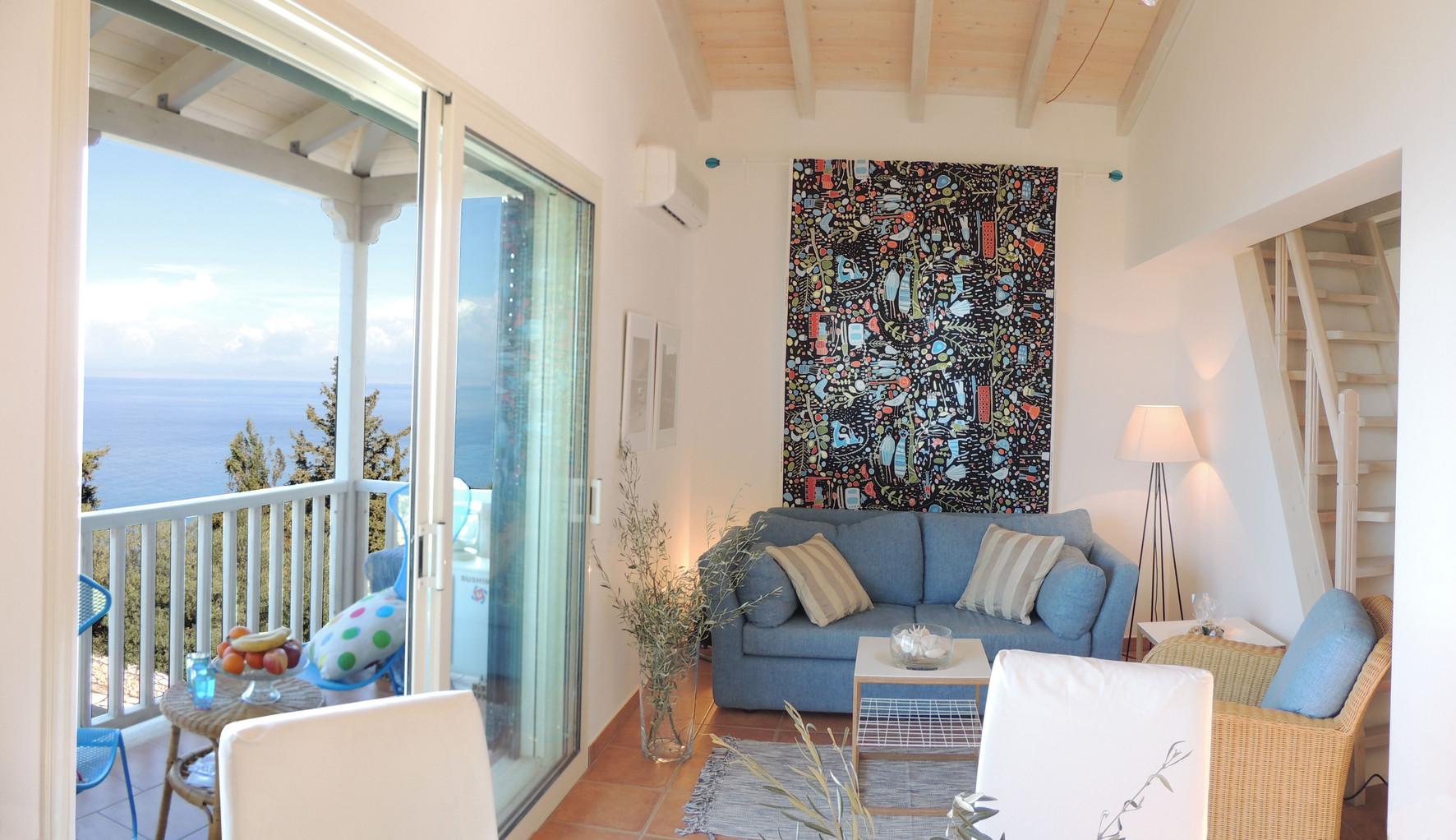 living area - villa Acqua Azzurra