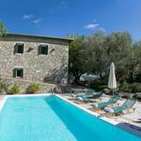 The pool + sun terrace & the Old House