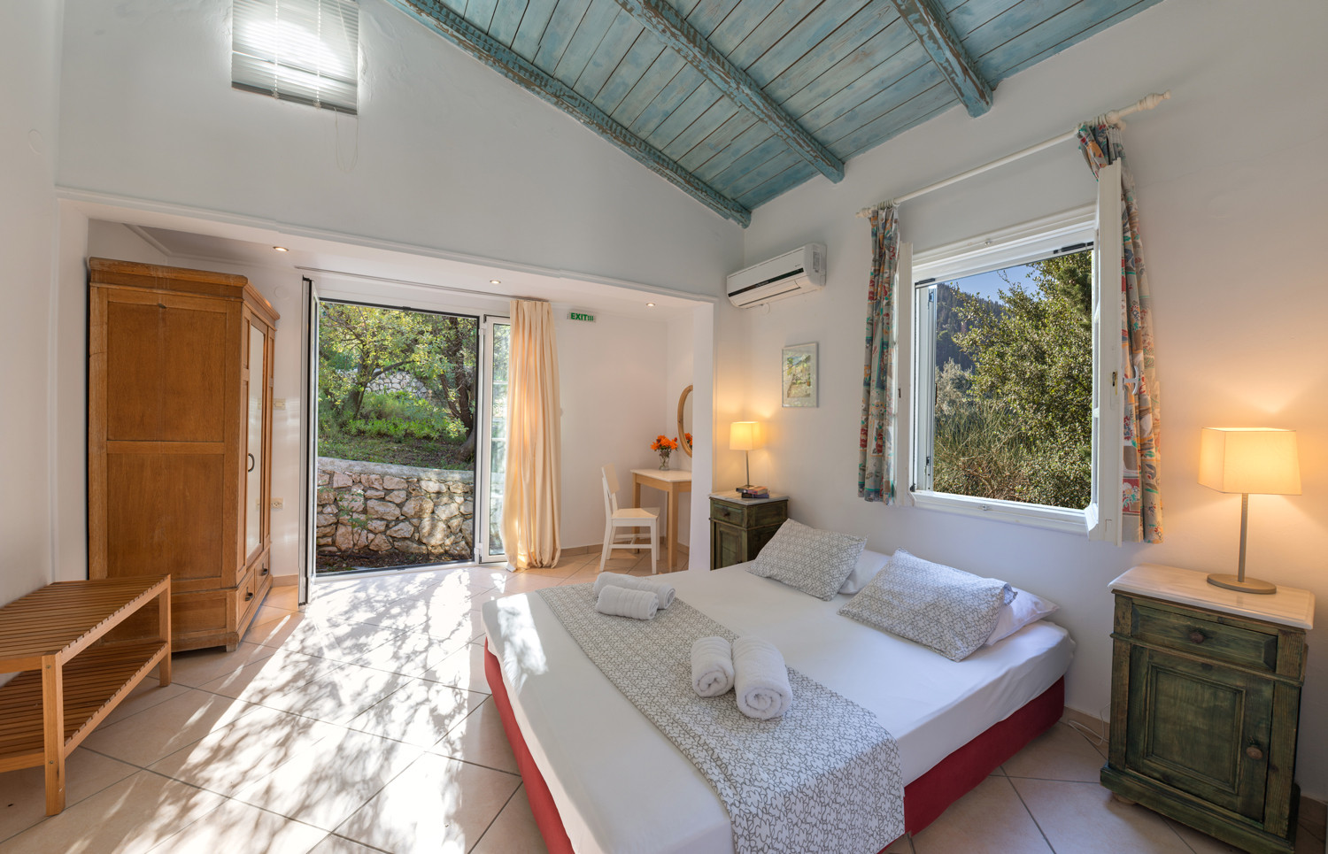 master bedroom - villa Myrtia