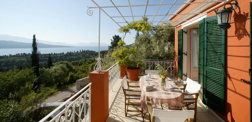 the balcony - villa Anthea Rossa