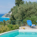 sea views from the private pool