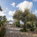 terrace with al fresco dining