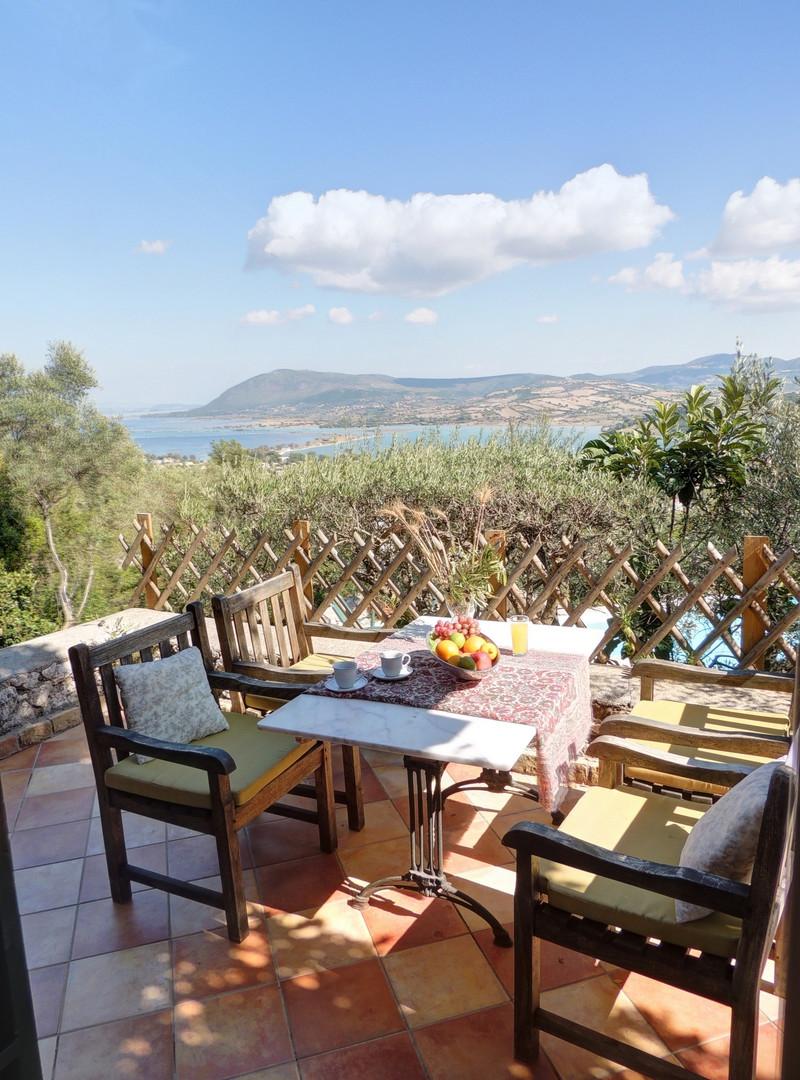 front terrace - villa Pergola