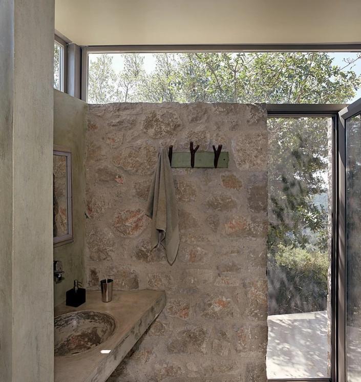 bathroom - guest house