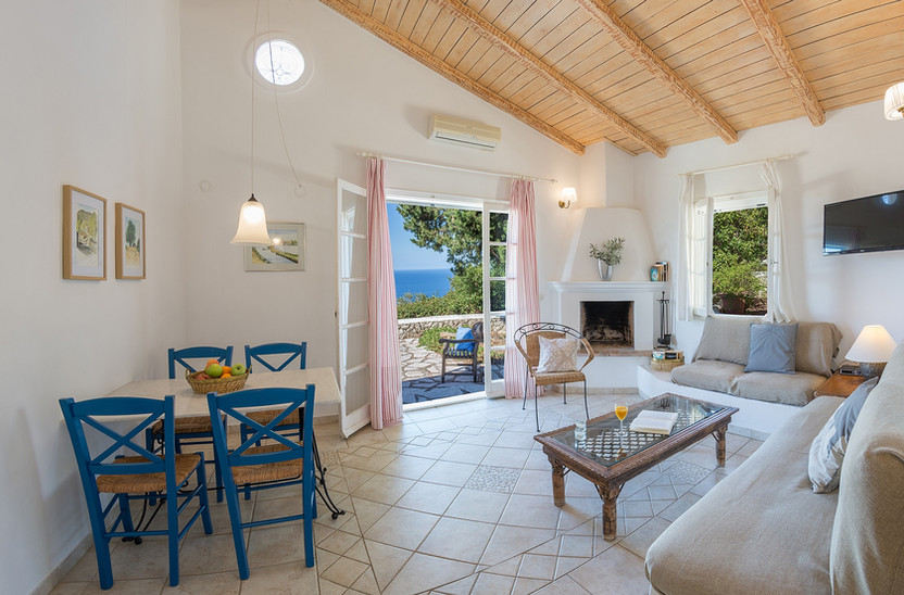 living area - villa Myrtia