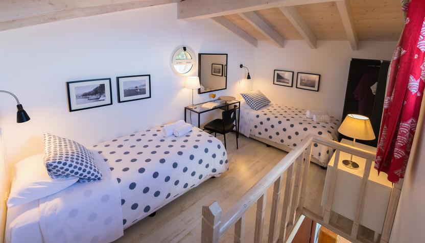 the attic - villa Acqua Azzurra