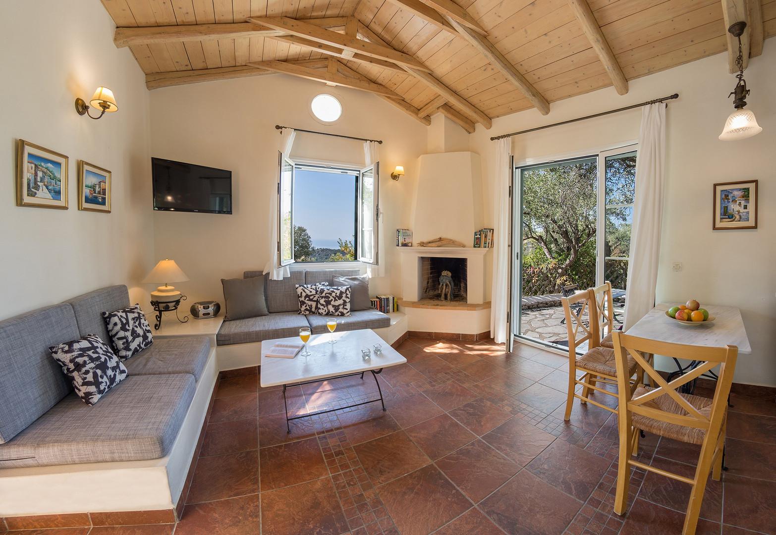 living area - villa Sparto