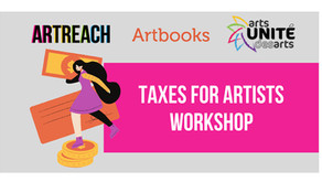 Upcoming workshop: Taxes for artists