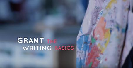 Grant Writing The Basics Video