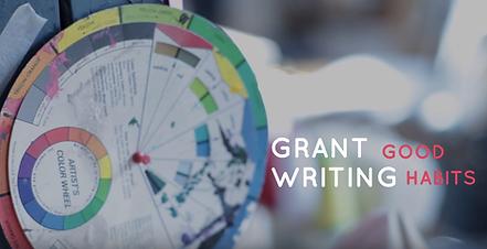 Grant Writing Good Habits Video