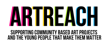 ArtReach Logo with Tagline- Transparent