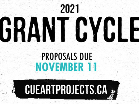 CUE's 2021 Grant Cycle is now open!