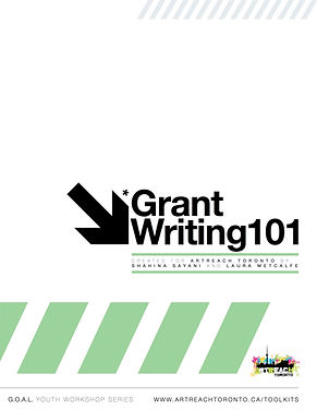 Grant Writing 101 Toolkit