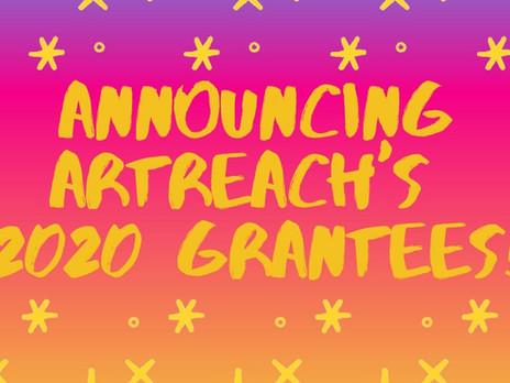Meet ArtReach's 2020 Grantees!